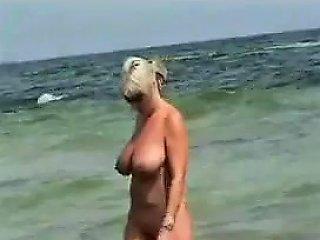 Voyeur At The Nudist Beach