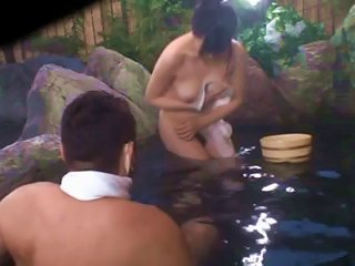 Hot Asian Getting Naked In The Pool With A Bunch Of Dudes